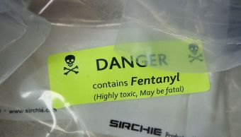 Estados Unidos alerta producción fentanilo México