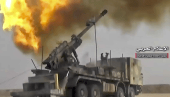 Tropas sirias avanzan en el bastión del Estado Islámico cerca de Irak