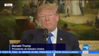 Trump ofrece mensaje sobre tiroteo en Texas