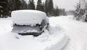 Peter Skyllberg, Bajas Temperaturas, Sepultado, Nieve, Sobrevivió, Nevadas