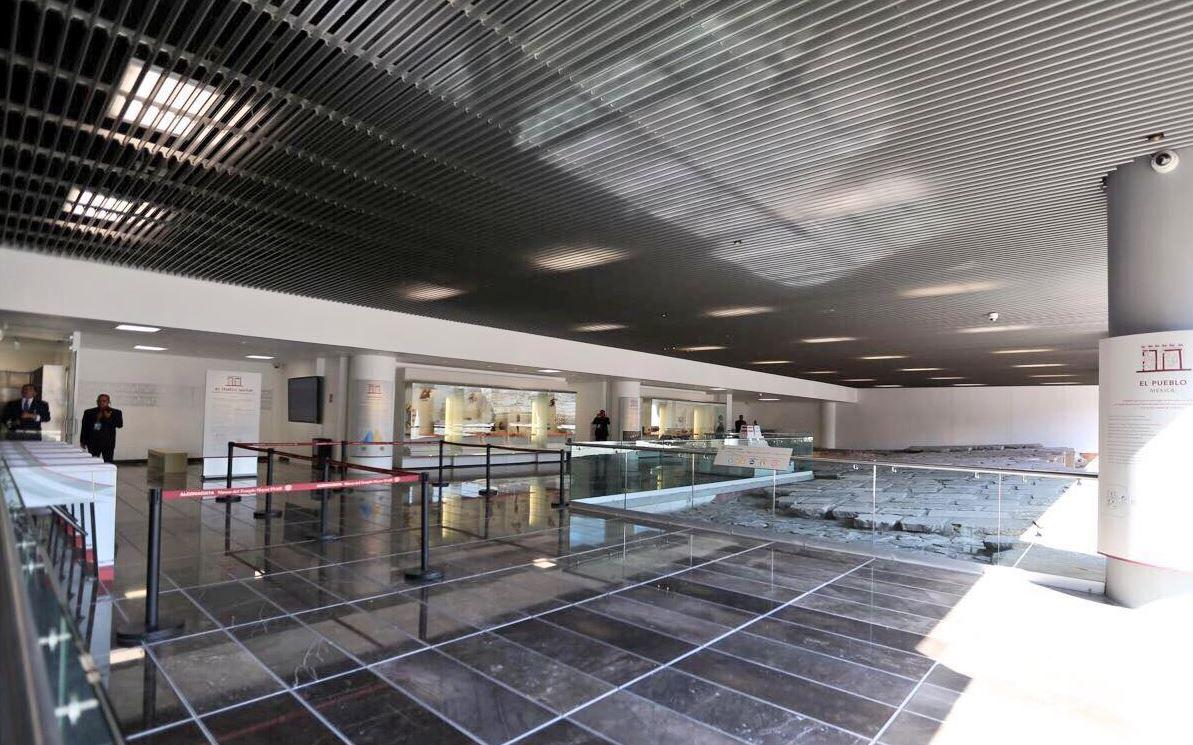 Inauguran nuevo acceso al Museo del Templo Mayor en CDMX