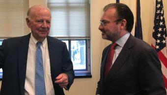 videgaray se reune con exsecretario de estado de eu