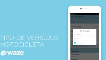 Waze, disponible para conductores de motocicleta