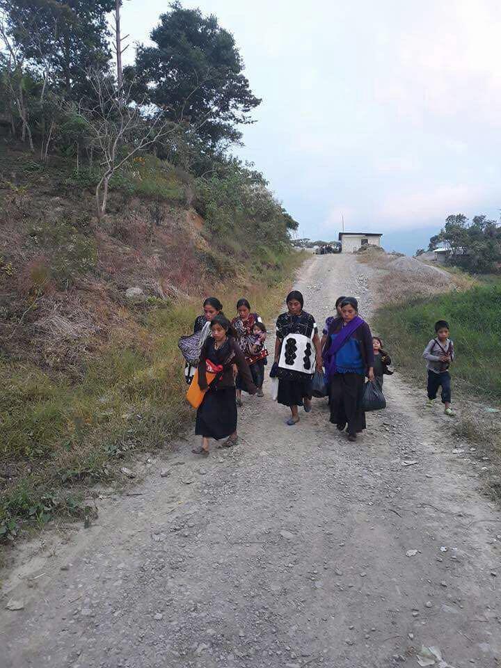 Sobreviven 5 mil tzotziles desplazados Chiapas