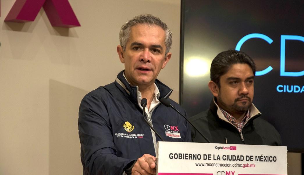 cdmx recursos donaciones mancera ciudadanos sismo