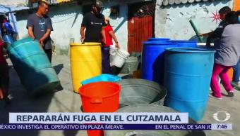 11 municipios del Edomex no tendrán agua por falla en Sistema Cutzamala