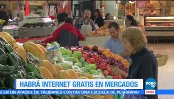 Extra Extra: Habrá internet gratis en mercados