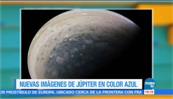 Extra Extra: Nuevas imágenes de Júpiter en color azul