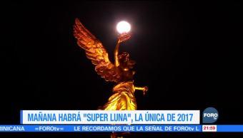 Única súper luna de 2017 podrá verse el domingo 3 de diciembre