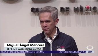 La Ciudad de México no ha recibido donaciones