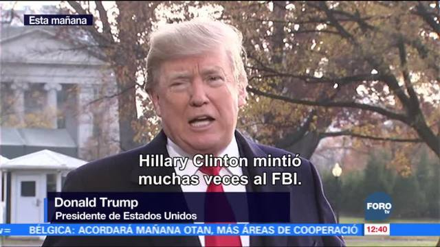 "Donald Trump dice sentirse ""muy mal"" por Flynn"