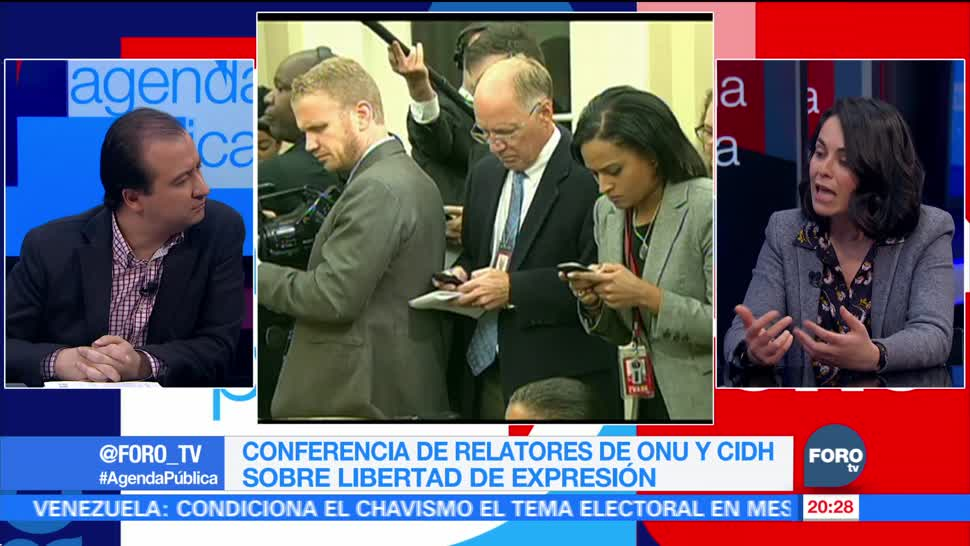 Agresiones contra la prensa en México