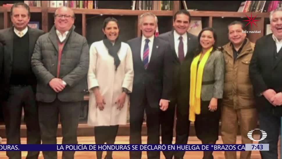 PRD cierra filas para apoyar a Mancera por candidatura presidencial del Frente