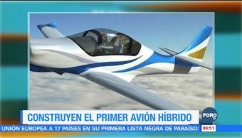 Extra Extra: Construyen el primer avión híbrido