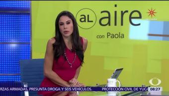 Al aire, con Paola Rojas: Programa del 6 de diciembre del 2017