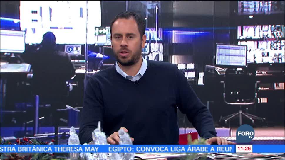 Matutino Express del 6 de diciembre con Esteban Arce (Bloque 3)