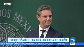 Aurelio Nuño presentó su renuncia, deja la SEP