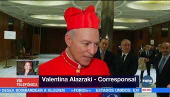Vaticano confirma nombramiento de Carlos Aguiar Retes como Arzobispo de la CDMX