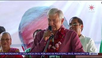 López Obrador llama a la unidad interna en Morena