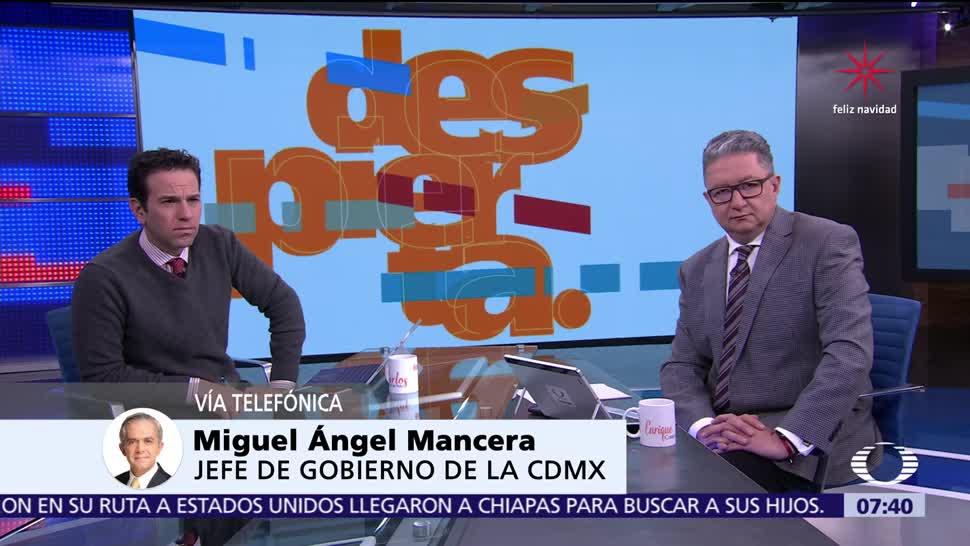 Mancera habla en Despierta del Frente Ciudadano, Anaya y la CDMX