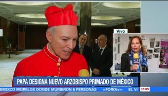 Papa Francisco acepta renuncia de Norberto Rivera