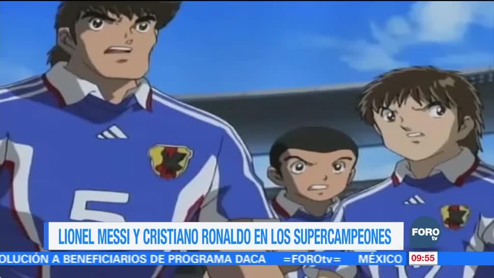 #LoEspectaculardeME: Lionel Messi y Cristiano Ronaldo en los Supercampeones