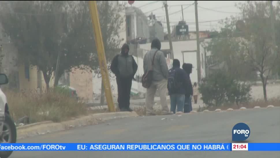 Bajas temperaturas por tormenta invernal en México
