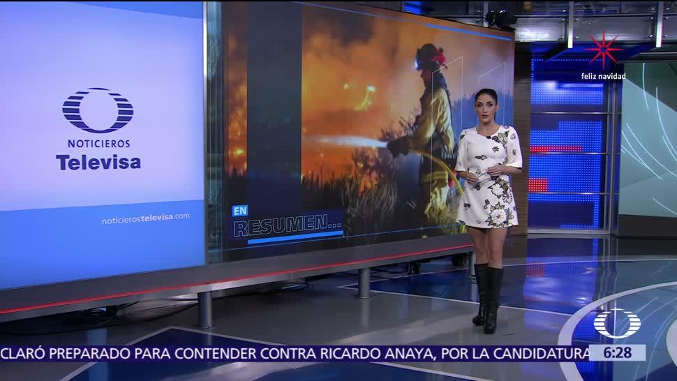 Las noticias, con Danielle Dithurbide: Programa del 8 de diciembre del 2017