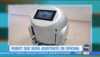 Extra Extra: Crean robot para ser asistente de oficina