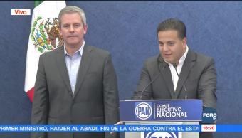 PAN nombra a Marcelo Torres Cofiño nuevo secretario general del PAN