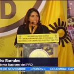 Barrales deja presidencia del PRD para ir por jefatura de Gobierno
