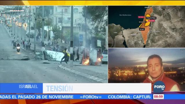 Crece la tensión y la violencia en Oriente Medio