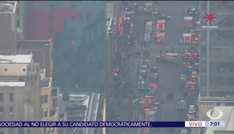 Reportan explosión cerca de Times Square