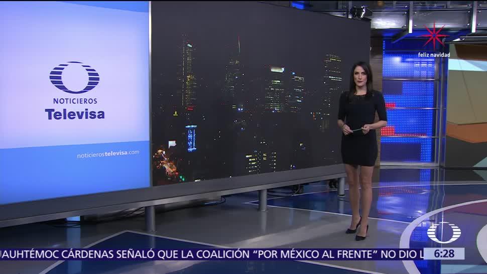 Las noticias, con Danielle Dithurbide: Programa del 11 de diciembre del 2017