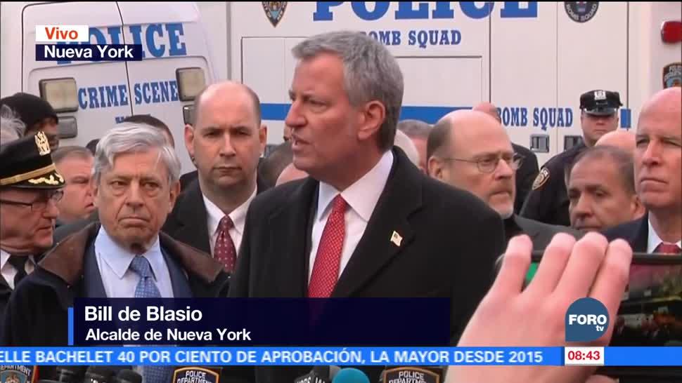Muchos enemigos quieren atacar a nuestra ciudad: Bill de Blasio