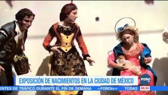 Exposición con más de 300 nacimientos en la CDMX