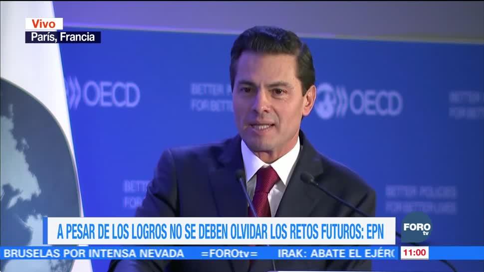 Enrique Peña Nieto explica el camino para implementar las reformas