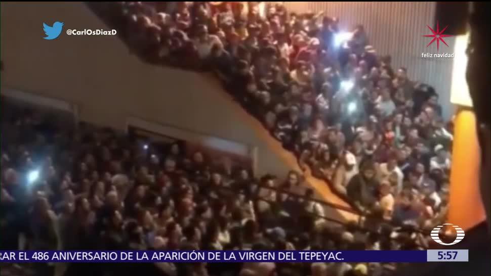 Usuarios arman pelea en el Metro Pantitlán de la CDMX