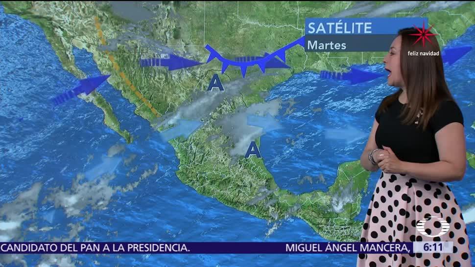 Continuarán bajas temperaturas y heladas en la mayor parte del país