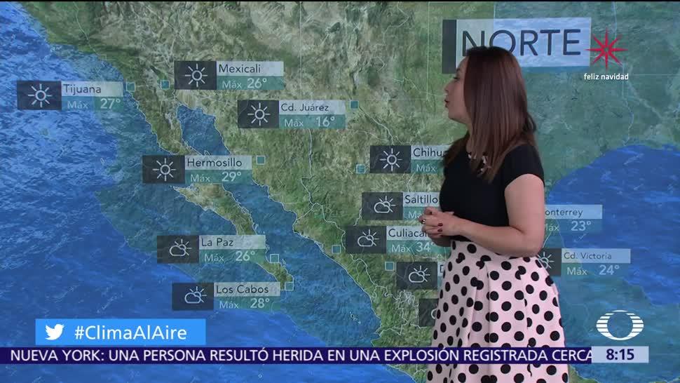 Clima Al Aire: Frío y heladas predominarán en el Valle de México