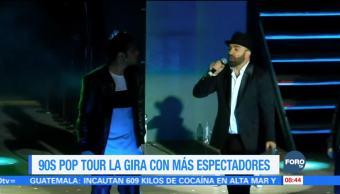 #LoEspectaculardeME: '90's Pop Tour' la gira con más espectadores