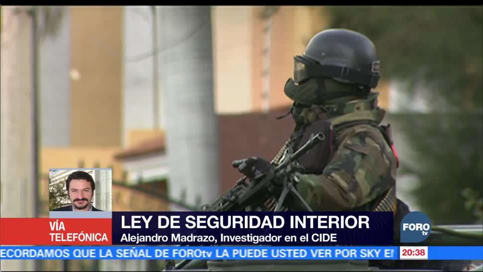 La militarización exacerba la violencia, afirma Alejandro Madrazo