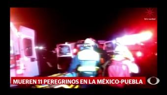 Mueren 11 peregrinos de regreso a casa en Puebla