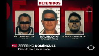 Detienen a 3 secuestradores de joven en Naucalpan