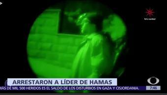 Israel arresta a unos de los líderes del movimiento Hamas