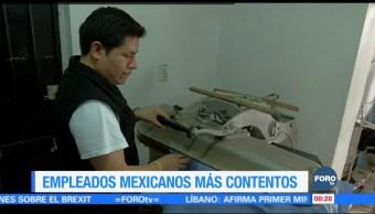 Extra Extra: Empleados mexicanos más contentos