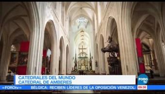 La catedral de Amberes en Bélgica