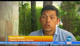 Entrevista con el nadador Draco Alcibiades Morlán