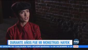 """Salma Hayek afirma que por años Harvey Weinstein fue """"su monstruo"""""""