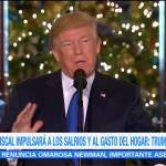 Reforma fiscal significará ahorro para las familias: Trump